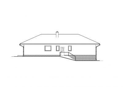 Rodinný dom RD04 pohľad