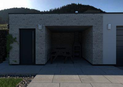 Rodinný dom RD07 vizualizácia