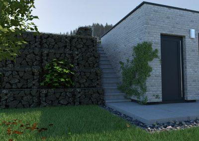 Rodinný dom RD04 vizualizácia